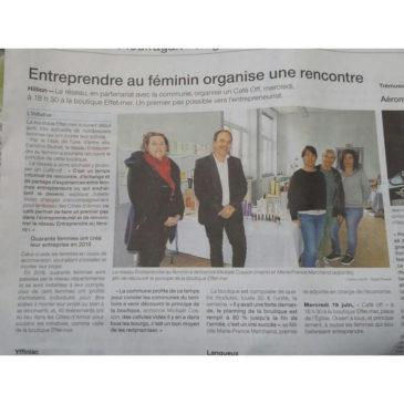 Entreprendre au féminin à Hillion