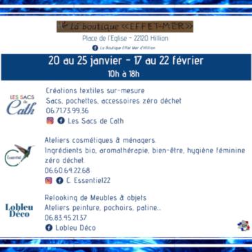 Boutique Effet Mer Hillion janvier 2020