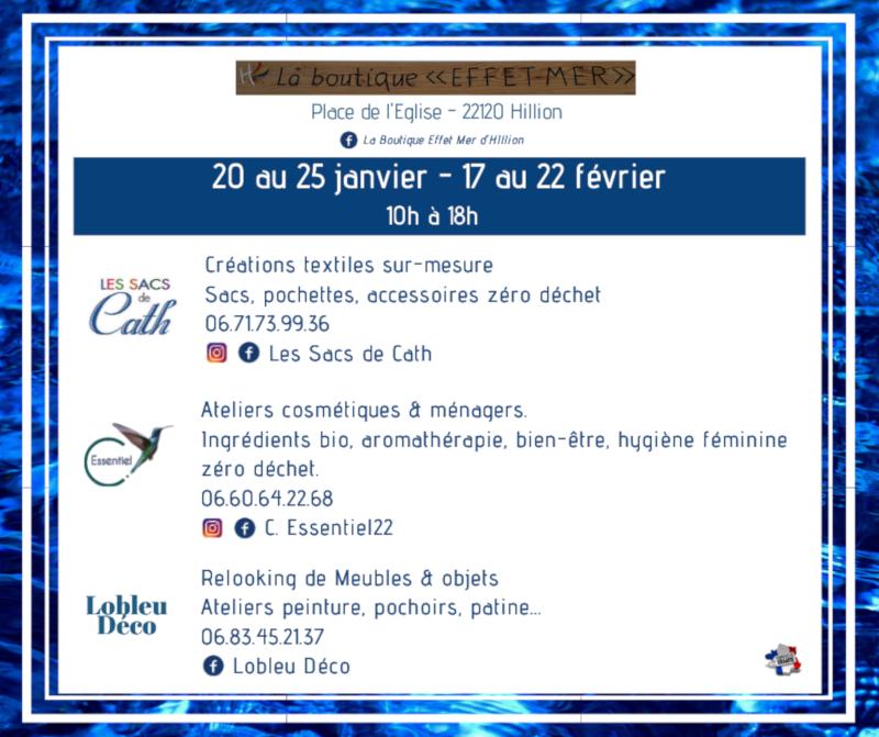 Boutique Hillion janvier 2020