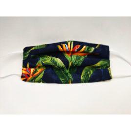 Masque motif tropical élastique