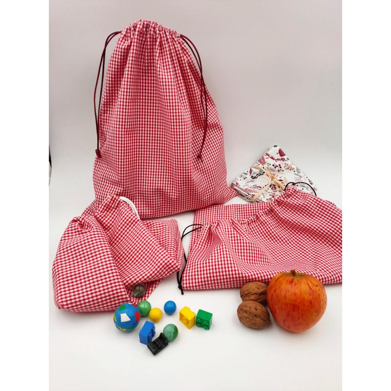 sacs vichy rouge