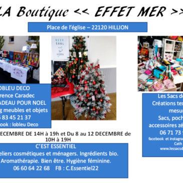 Boutique Effet Mer Noël 2020